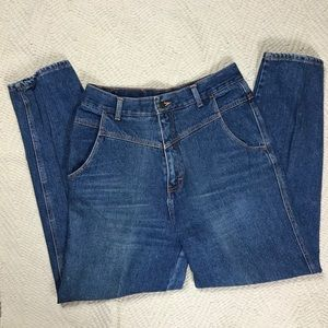 90s Vintage No Excuses High Waisted Mom Jeans